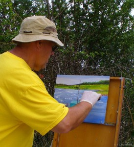 terry plein air painting